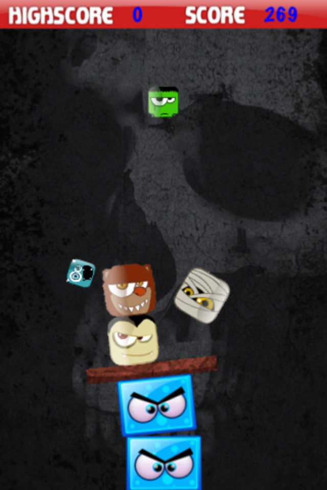 Screenshot Creepy Blocks Lite