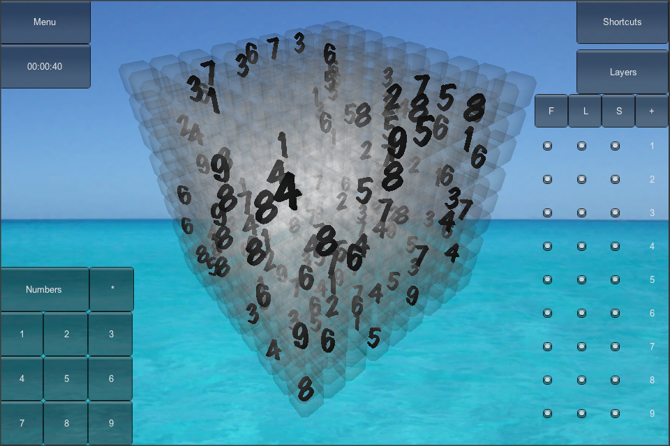Screenshot Real Sudoku3D Lite Mobile